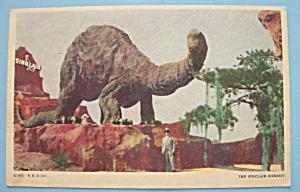 Sinclair Exhibit Postcard (Chicago World's Fair) (Image1)