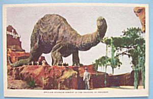 Postcard of Sinclair Dinosaur Exhibit (Chicago Fair) (Image1)