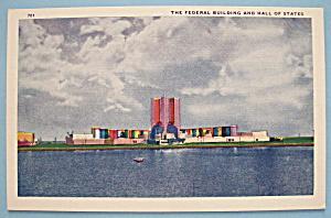 Federal Building Postcard (Chicago's World Fair) (Image1)
