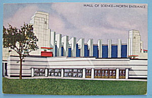 Hall of Science (North Entrance) Postcard-Chicago Fair (Image1)