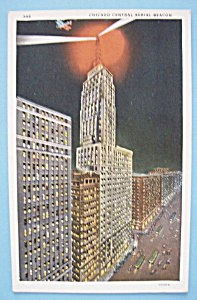 1933 Century Of Progress Chicago Central Postcard (Image1)