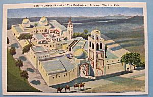 1933 Century Of Progress Tunisia Postcard (Image1)