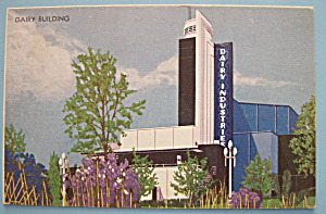 Dairy Building Postcard (Chicago World's Fair) (Image1)