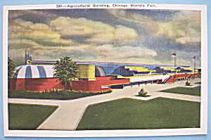 Postcard For Agricultural Building (Chicago World Fair) (Image1)