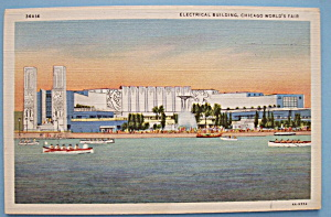 Postcard of Electrical Building (Century Of Progress) (Image1)