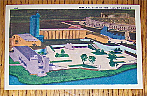 Hall Of Science (Airplane View) Postcard (Chicago Fair) (Image1)
