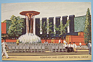 Fountain & Electrical Group Postcard (Chicago Fair) (Image1)