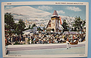 Black Forest Postcard  (1933 Century Of Progress) (Image1)
