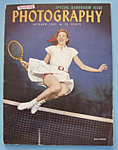 Popular Photography Magazine - October 1947