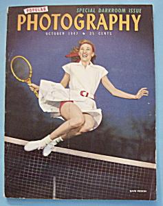 Popular Photography Magazine - October 1947 (Image1)