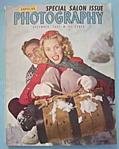 Popular Photography Magazine - December 1947 (Image1)
