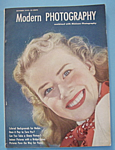 Modern Photography Magazine - October 1949