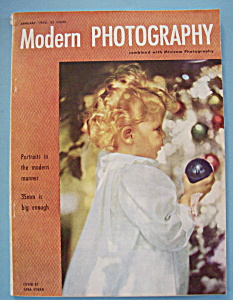 Modern Photography Magazine - January 1950