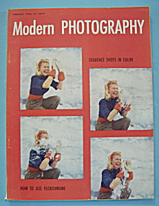 Modern Photography Magazine - February 1950