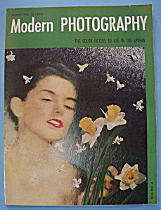 Modern Photography Magazine - March 1950