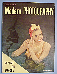 Modern Photography Magazine - April 1950