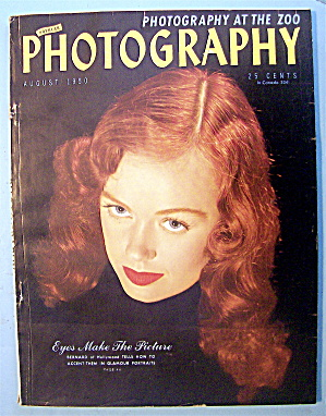Popular Photography Magazine-august 1950-bernard