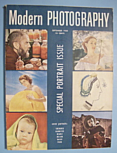 Modern Photography Magazine - September 1950