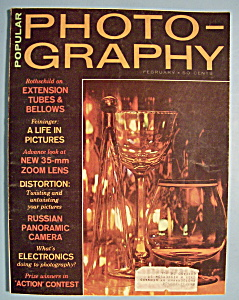 Popular Photography Magazine February 1964 Rothschild