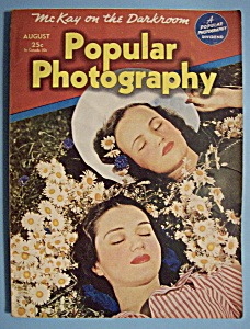 Popular Photography Magazine - August 1941
