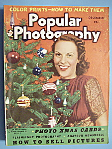 Popular Photography Magazine - December 1938