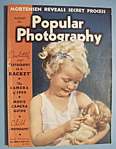 Popular Photography Magazine - August 1938