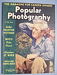 Popular Photography Magazine - July 1938