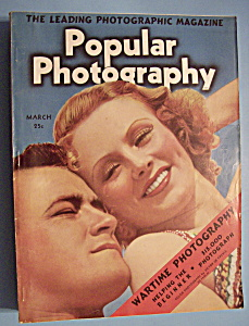 Popular Photography Magazine - March 1939