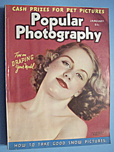 Popular Photography Magazine - January 1939