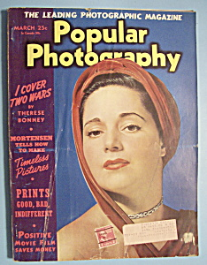 Popular Photography Magazine - March 1941