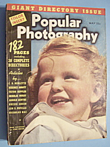 Popular Photography Magazine - May 1939