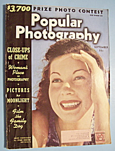 Popular Photography Magazine - September 1939
