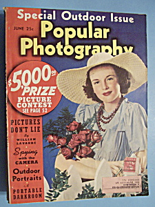 Popular Photography Magazine - June 1940