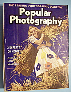 Popular Photography Magazine - September 1940