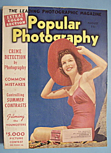 Popular Photography Magazine - August 1940