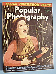 Popular Photography Magazine - October 1940