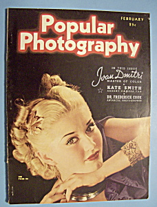 Popular Photography Magazine - February 1938