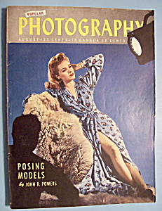 Popular Photography Magazine -august 1944- John Powers