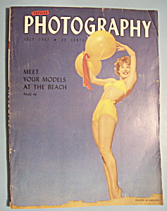 Popular Photography Magazine - July 1947