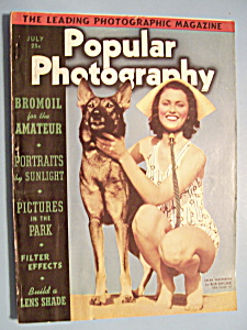Popular Photography Magazine - July 1939