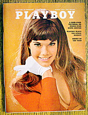 Playboy Magazine-march 1970-christine Koren (Barbi)