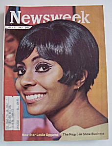 Newsweek Magazine - July 17, 1967 - Leslie Uggams
