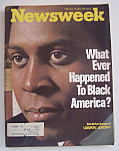 Newsweek Magazine - February 19, 1973 - Vernon Jordan