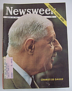 Newsweek Magazine - August 28, 1967