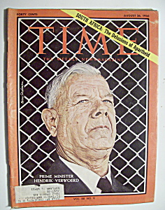 Time Magazine - August 26, 1966