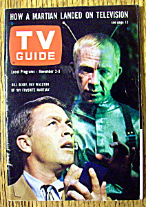 Tv Guide-november 2-8, 1963-bill Bixby & Ray Walston
