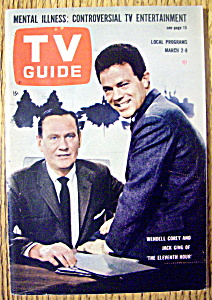 Tv Guide-march 2-8, 1963-wendell Corey & Jack Ging