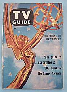 Tv Guide - March 16-22, 1957
