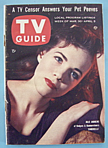 Tv Guide - March 30-aprl 5, 1957 - Julie Andrews