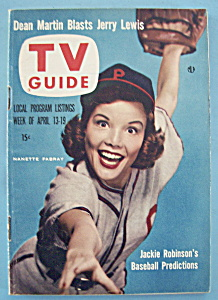 Tv Guide - Aprl 13-19, 1957 - Nanette Fabray